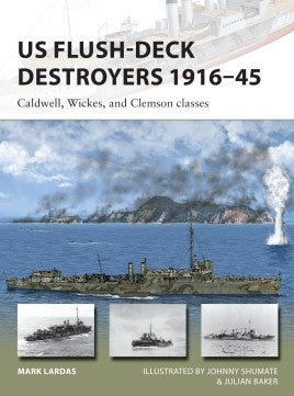 Osprey Publishing Vanguard: US Flush-Deck Destroyers 1916-45