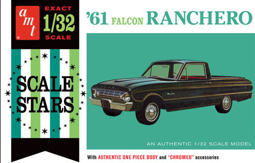 AMT Model Cars 1/32 1961 Falcon Ranchero Kit