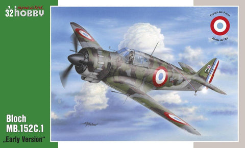 Special Hobby Aircraft 1/32 Bloch MB152C1 Early Version Fighter Kit
