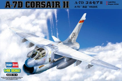 Hobby Boss Aircraft 1/48 A-7D Corsair II Kit