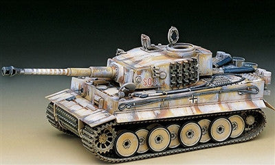Academy Military 1/35 Tiger I Early Exterior Tank Kit