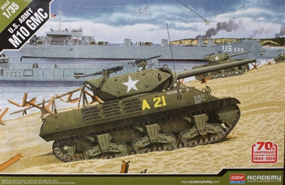 Academy Military 1/35 M10 GMC US Army Destroyer Normandy Invasion Kit