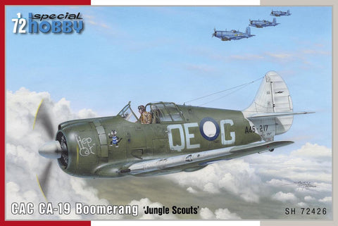 Special Hobby Aircraft 1/72 CAC CA19 Boomerang Jungle Scouts Aircraft Kit