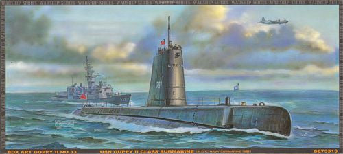 AFV Club Ships 1/350 USN Guppy II Class Submarine Kit