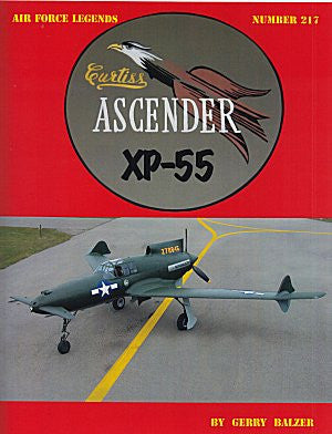 Ginter Books - Air Force Legends: Curtiss Ascender XP55