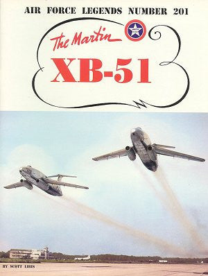 Ginter Books - Air Force Legends: Martin XB51