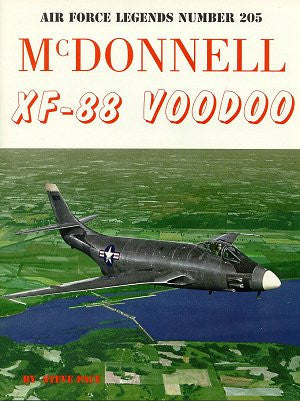 Ginter Books - Air Force Legends: McDonnell XF88 Voodoo