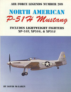 Ginter Books - Air Force Legends: North American P51H Mustang