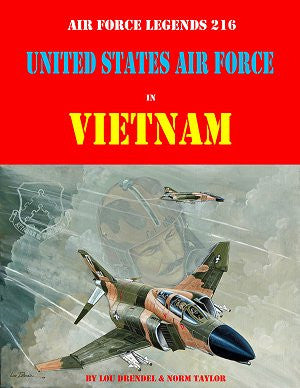 Ginter Books - Air Force Legends: United States Air Force in Vietnam