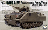 AFV Club Military 1/35 NATO Armored Infantry Vehicle w/25mm Turret Kit