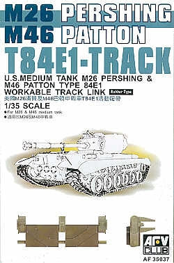 AFV Club Military 1/35 T84E1 Track Links Rubber Type Kit