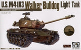 AFV Club Military 1/35 WWII US M41A3 Walker Bulldog Light Tank Kit