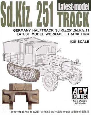 AFV Club Military1/35 SdKfz 251 Late Type Workable Track Links Kit