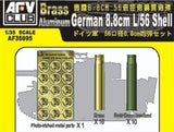 AFV Club Military 1/35 German 8.8mm L/56 Ammo Shell for Flak 18/36/37 Tiger I Kit