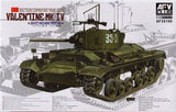 AFV Club Military 1/35 British Mk III Valentine Mk IV Infantry Tank Soviet Red Army Version Kit