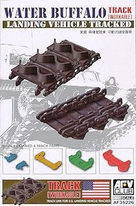 AFV Club Military 1/35 US LVT4 Water Buffalo Workable Track Links Kit