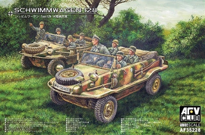 AFV Club Military 1/35 Schwimmwagen 128 Vehicle Kit