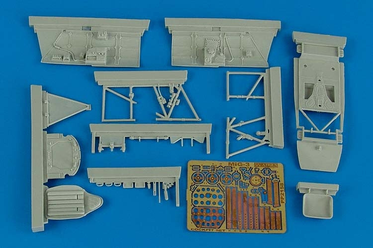 Aires Hobby Details 1/32 MiG3 Cockpit Set For TSM