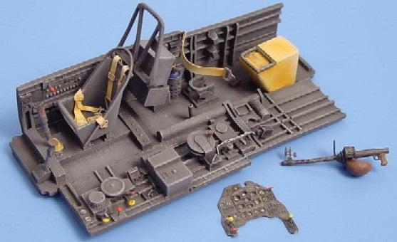 Aires Hobby Details 1/48 Ju87B2 Stuka Cockpit Set For HSG