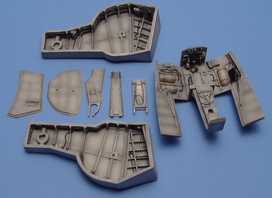 Aires Hobby Details 1/48 Hawker Hunter Wheel Bay For ACY