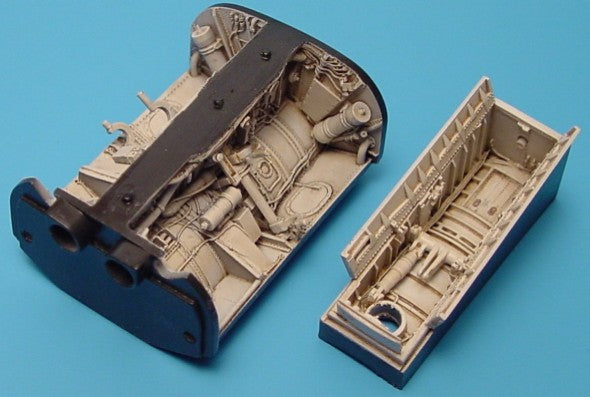 Aires Hobby Details 1/48 F8 Wheel Bay For HSG