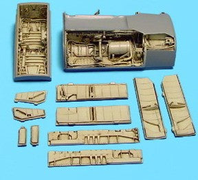 Aires Hobby Details 1/48 A7 Wheel Bay For HSG