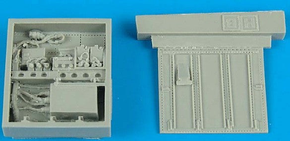 Aires Hobby Details 1/48 A10A Electronic Bay For HBO