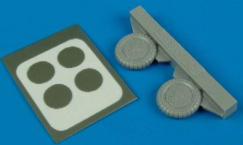 Aires Hobby Details 1/72 Bf109G6 Wheels & Paint Masks
