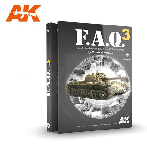 AKI Books - FAQ 3 Modern AFV Painting Techniques Book