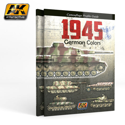 AKI Books - 1945 German Colors Camouflage Profile Guide Book