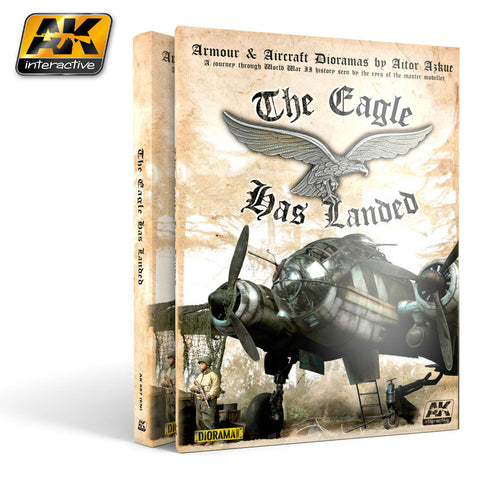 AKI Books - Armour & Aircraft Dioramas: The Eagle Has Landed Book