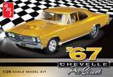 AMT Model Cars 1/25 1967 Chevy Chevelle Pro Street Car Kit