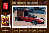 AMT Model Cars 1/25 George Barris Surf Woody (Orange) Kit
