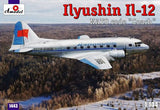 A Model From Russia 1/144 IL12 NATO Coach Soviet Passenger/Transport Aircraft Kit