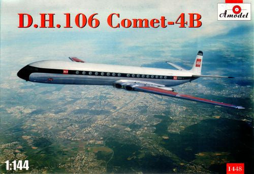 A Model From Russia 1/144 DH106 Comet 4B Passenger Airliner Kit