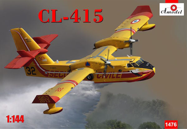 A Model From Russia 1/144 CL415 Amphibious Aircraft (New Tool) Kit