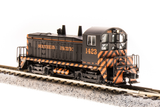 Broadway Limited N EMD NW2 - Sound and DCC - Paragon3 - Southern Pacific 1423 (Tiger Stripe, Black, Orange)