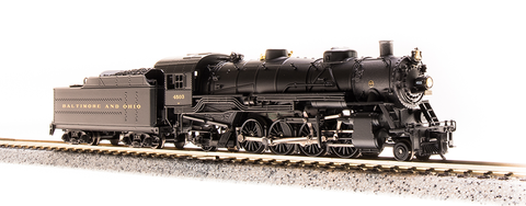 Broadway Limited N USRA 2-8-2 Heavy Mikado - Sound and DCC - Paragon3 - Baltimore & Ohio 4505 (Black, Graphite)