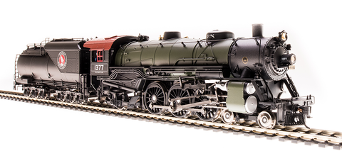 Broadway Limited HO USRA 4-6-2 Light Pacific - Sound & DCC - Paragon3 - GN #1384, Glacier Green (Black, Silver)