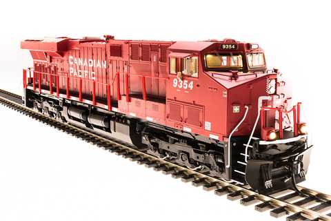 Broadway Limited Imports HO GE ES44AC w/Sound/DCC/Smoke - Paragon3 - CP 9354, Red w/White
