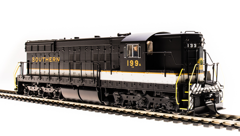 Broadway Limited HO EMD SD9, SOU 198, Tuxedo Scheme, Paragon3 Sound/DC/DCC