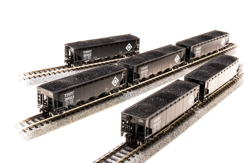 BROADWAY LIMITED IMPORTS N ARA 70t 4bay HOPPER ERIE6 PACK A