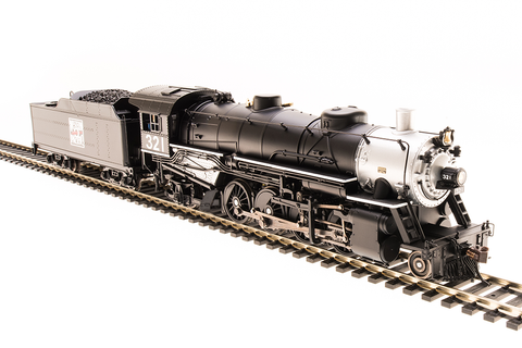 Broadway Limited Imports HO Light Mikado Western Pacific #321 Paragon3