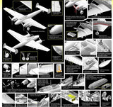 Cyber-Hobby Aircraft 1/32 Bf110E2/Trop Heavy Fighter Kit