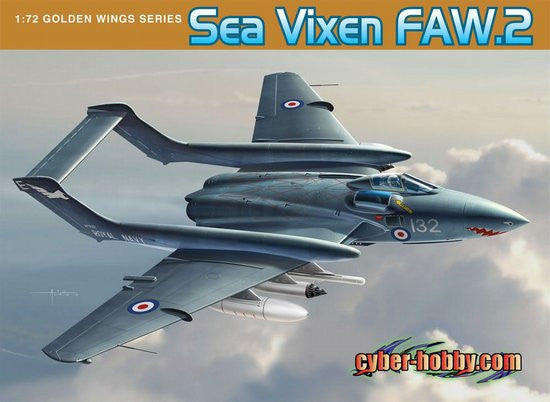 Cyber-Hobby Aircraft 1/72 Sea Vixen FAW2 Aircraft Kit