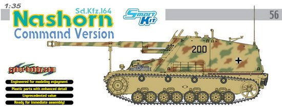 Cyber-Hobby Military 1/35 SdKfz 164 Command Nashorn Tank Kit