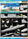 Cyber-Hobby Ships 1/700 USS Long Beach CGN9 Nuclear Guided Missile Cruiser