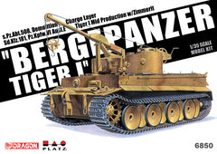 Dragon Military Models 1/35 SdKfz 181 PzKpfw VI Ausf E Tiger I Mid Production Tank Kit