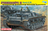 Dragon Military Models 1/35 StuG III (SdKfz 142) Ausf C/D Tank w/7.5cm Gun Smart Kit