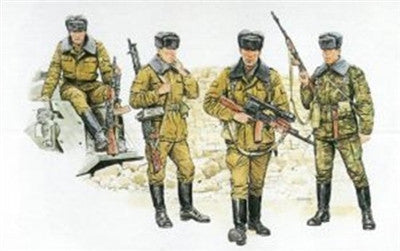 Dragon Military Models 1/35 Soviet Motor Rifle Troops (4) Kit